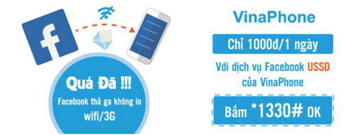 Dịch vụ Facebook USSD