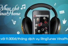 Dịch vụ nhạc chờ Vinaphone