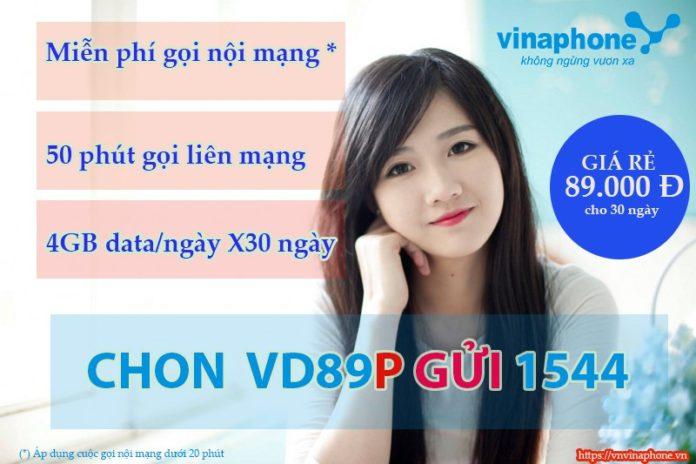 Cách đăng ký gói cước VD89 Plus nhận nhiều ưu đãi từ Vinaphone