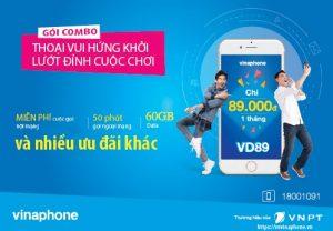 Tổng hợp các gói cước thoại kèm data vinaphone vô tư gọi, thả ga internet