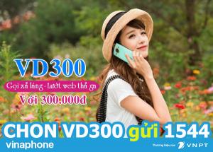 Cách đăng ký gói cước VD300 Vinaphone
