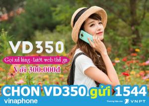Cách đăng ký gói cước VD350 vinaphone