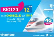 Cách đăng ký gói cước BIG120 vinaphone
