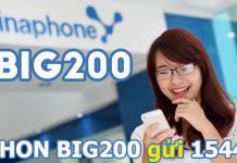 Cách đăng ký gói cước BIG200 vinaphone