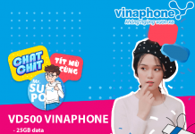 Cách đăng ký gói cước VD500 Vinaphone