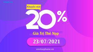 vinaphone-khuyen-mai-20%-nap-the-ngay-23-07-2021