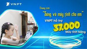 VNPT hỗ trợ 37.000 máy tính bảng