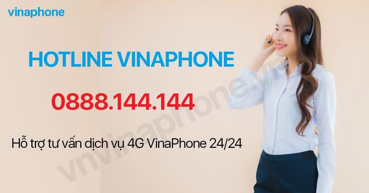 hotline hỗ trợ tư vấn của VinaPhone